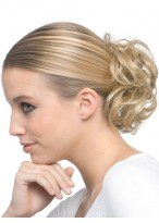 Soft Curly Scrunchie Style Synthetic Wrap