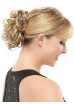 Classy Claw Clip Synthetic Curly Wrap