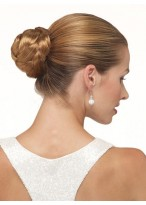 Synthetic Updo With Pressure Clip