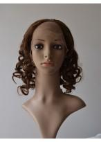 Mid-length Loose Spiral Curls U Part Wig