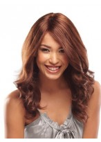 100% Human Hair Lace Front  Wavy Wig