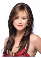 """16"""" Soft Layers Lace Front Human Hair Wig"""