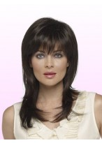 """16"""" Straight Capless Remy Human Hair Wig"""