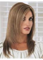 "14"" Straight Layered Capless Human Hair Wig"