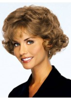 Short Curly Lace Front Human Hair Wig
