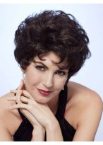 Short Curly Lace Front Remy Human Hair Wig