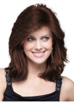 Feminine Romantic Style Human Hair Lace Front Wig