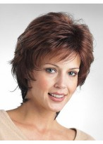 Classic Chic Short Synthetic Layered Wig
