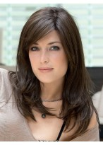 Long Straight Remy Human Hair Gorgeous Full Lace Wig