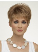 Short Straight Synthetic Pixies Wig