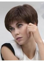 Short Layered Lace Front Award Human Hair Wig