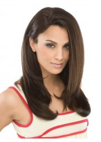 Long Luxurious Synthetic Capless Straight Wig