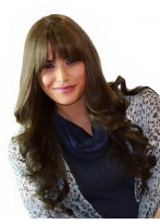 Long Wavy Lace Front Remy Human Hair Wig