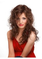 Long Full Lace Wavy Human Hair Gorgeous Wig