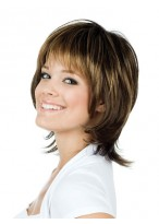Short 100% Human Hair Lace Front Wig