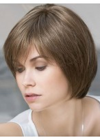 Medium Lace Front Remy Human Hair Wig