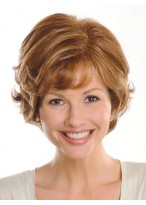 Voluminous Waves Short Synthetic Wig