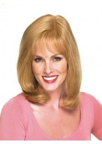 Medium Straight Full Lace Human Hair Wig