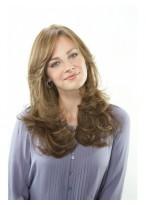 Fashion Long Wavy Human Hair Wig