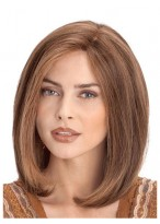 Medium Lace Front Human Hair Wig