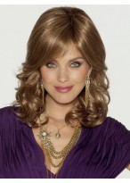 Luxury Amazing Human Hair Wavy Lace Front Wig