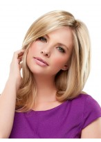 Wavy Ends Long Human Hair Wig For Women