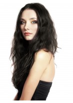 New Style Long Wavy Human Hair Wig For Women