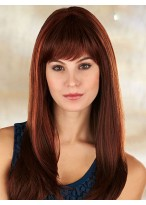 Soft Hot Sell New Long Straight Human Hair Wig