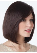 Women's Short Lace Front Human Hair Wig