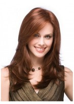 Long Lace Front Straight Human Hair Wig