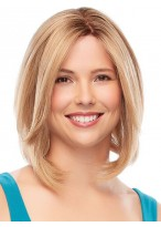 Women's Short Straight Lace Front Human Hair Wig