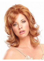 Charming Women's Wavy Lace Front Human Hair Wig