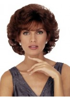 Short Capless Wavy Human Hair Wig