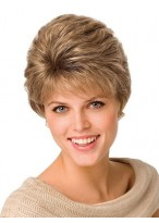 Gorgeous Women's Short Capless Straight Wig