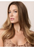 Women's Long Straight Capless Human Hair Wig