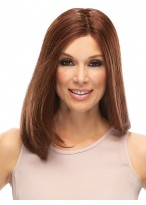 Shoulder Length Bob Style Human Hair Lace Front Wig