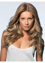 Impressive Long Loose Wavy New Arrival 100% Indian Remy Human Hair Full Lace Wig