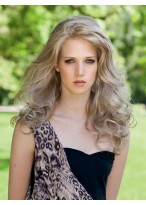 Stunning Long Wavy Lace Front Human Hair Wig