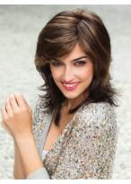 Collar Length Human Hair Short Cut Lace Front Wig