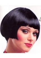 Pixie Cut Full lace Graceful Bob Hairstyle Straight Remy Human Hair Wig