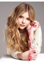 """26"""" Long Wavy Full Lace Monofilament Remy Human Hair Wig"""