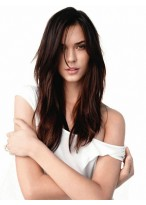 Heat Resistant Long Straight Full Lace Remy Human Hair Wig