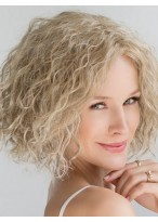 Kinky Curly Short Fashion Capless Remy Human Hair Wig