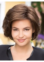 Heat Resistant Remy Human Hair Capless Short Wig