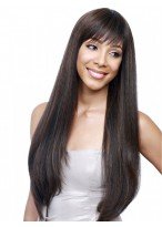 "26"" Straight Full Lace Remy Human Hair Wig"