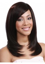 "16"" Soft Length Remy Human Hair Full Lace Wig"