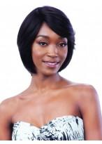 Soft Medium Length Straight Full Lace Wig