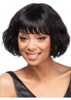 Wavy Fashion Remy Human Hair Wig