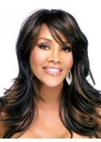 Brie Long Natural Straight Synthetic Wig