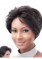"""8""""  Body Wavy Remy Human Hair Lace Front Wig"""
